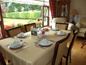 Breakfast is served Louth Hall B&B Dundalk