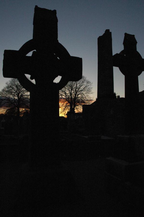 Monasterboice Round Tower & High Crosses