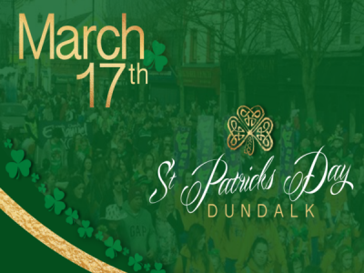 St Patrick's Day in Dundalk Ireland 2017