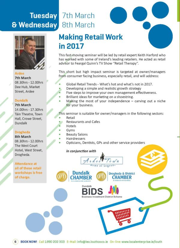 Making Retail Work in Dundalk with Louth LEO
