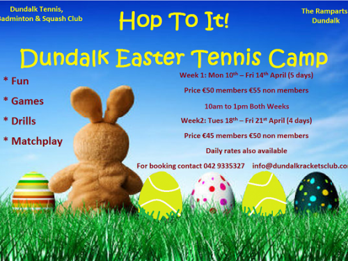 Dundalk Easter Tennis Camp