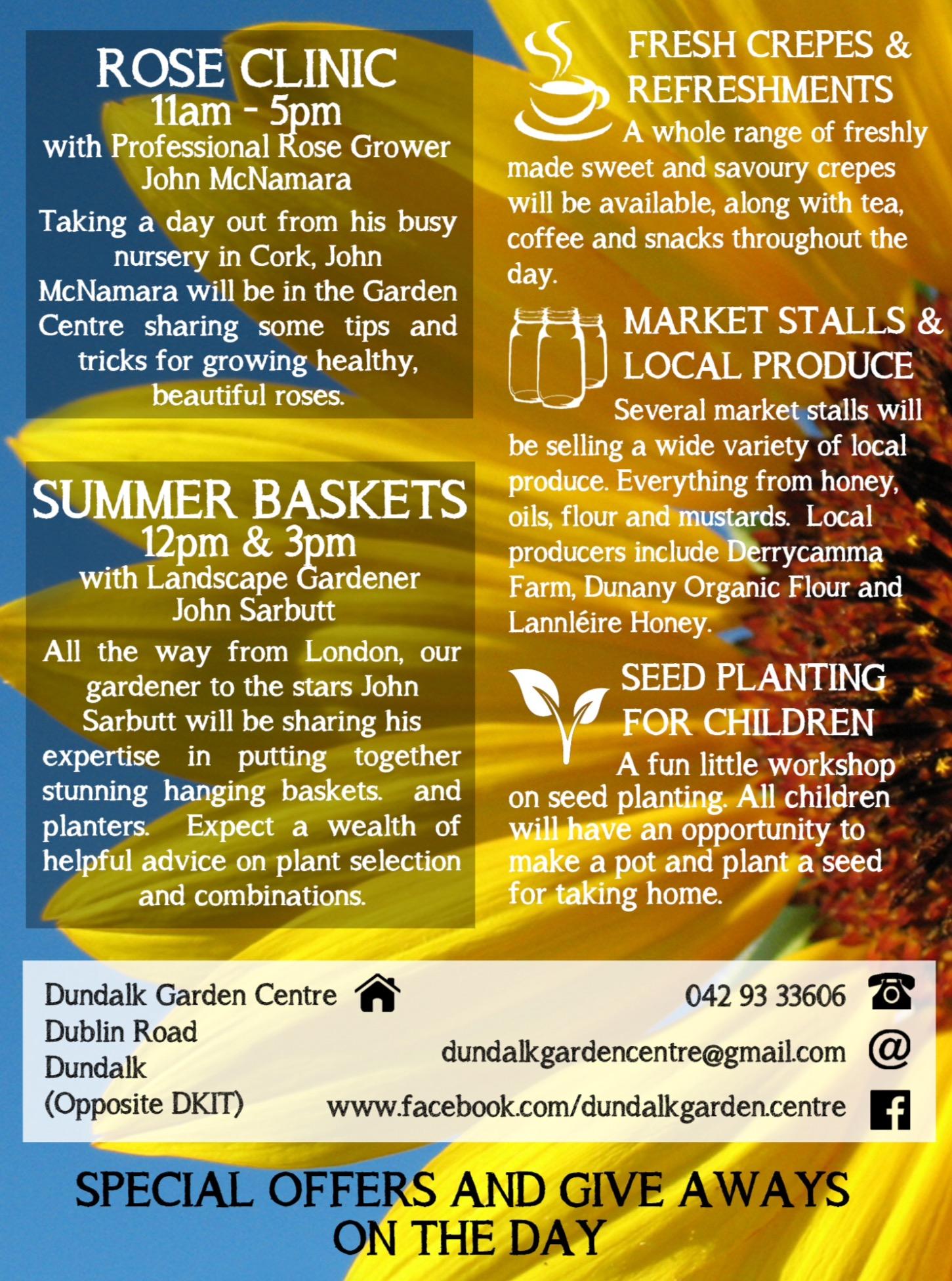 Dundalk Garden Centre day our 2017