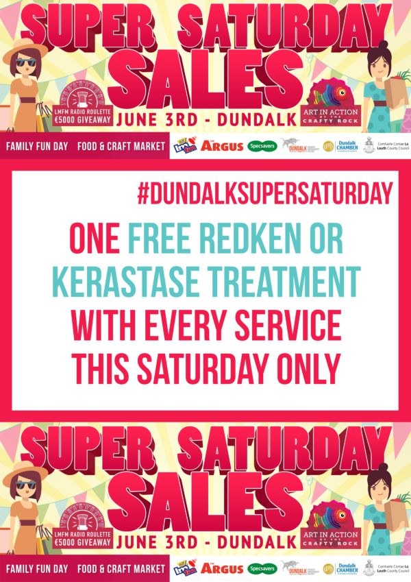 Hair Shop Dundalk ladies special offer