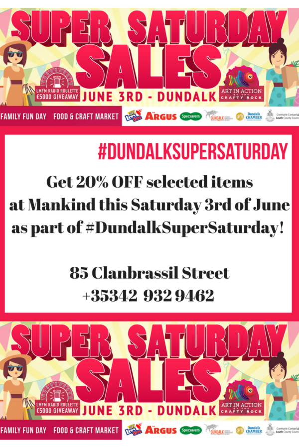 Mankind Dundalk Super Saturday 2017