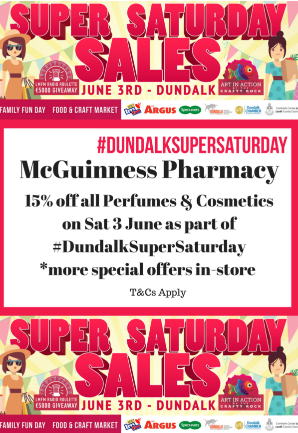 McGuinness Pharmacy Super Saturday 2017