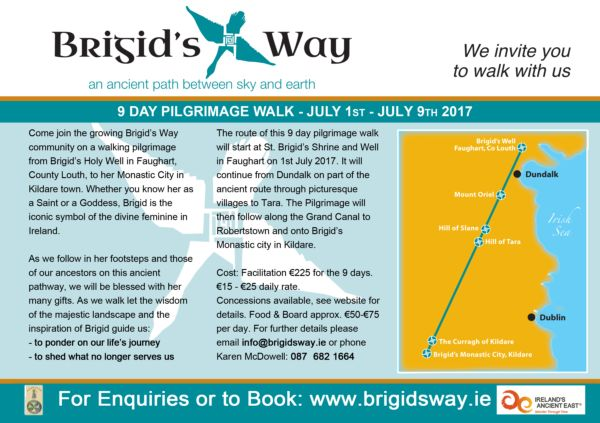 Brigids Way Dundalk Ireland