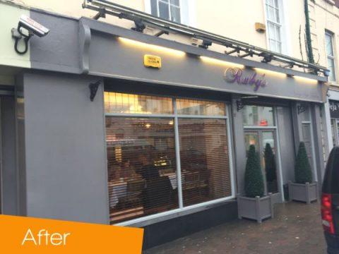 Shop Front Rubys Cafe Dundalk