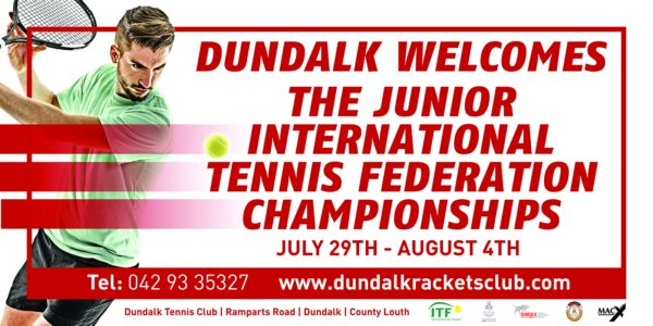 Dundalk Tennis, Badminton & Squash Club set to welcome over 500 to World Ranking event