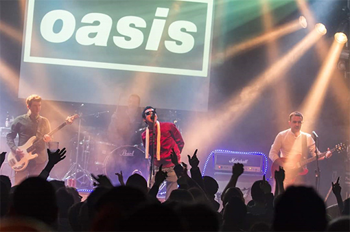 Live Forever - Oasis Tribute Sunday 1st April