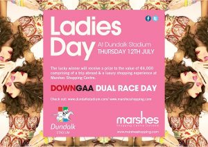 Dundalk Stadium - Marshes Ladies Day Posters County Louth 2018