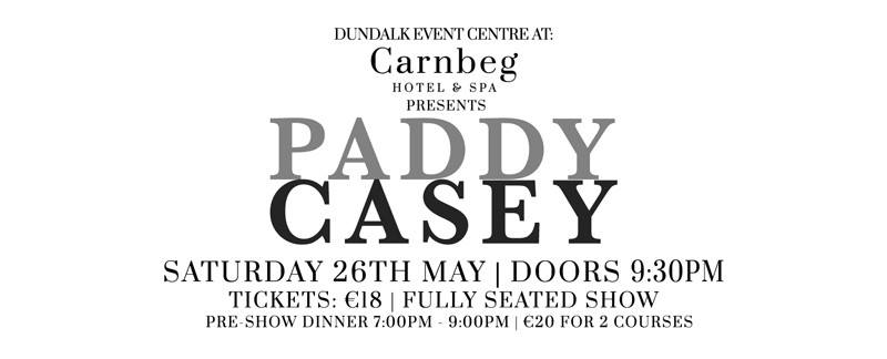Paddy Casey in concert in Dundalk