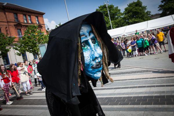 Dundalk super saturday 2018 Táin March Festival
