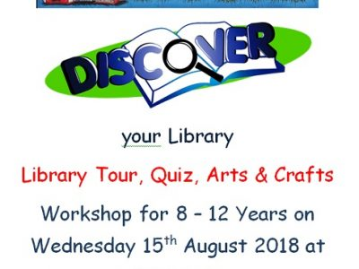Dundalk Library August Events
