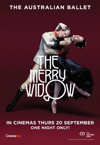 Australian Ballet's The Merry Widow ~ Thursday 20th September 2018 Dundalk