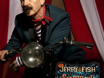JERRY FISH on Saturday, 3rd November ~ Oriel Cente Dundalk Goal