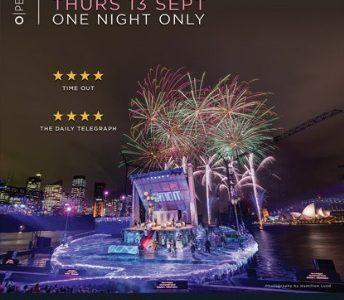 LaLa Boheme on Sydney Harbour ~ Thursday 13th September 2018 Dundalk