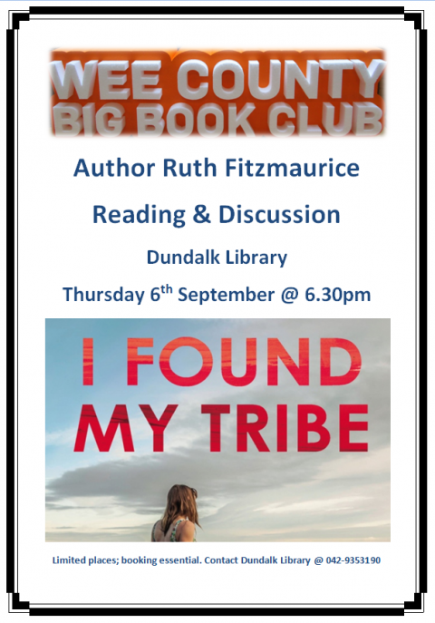 Author Ruth Fitzmaurice in association with Wee County Big Book Club