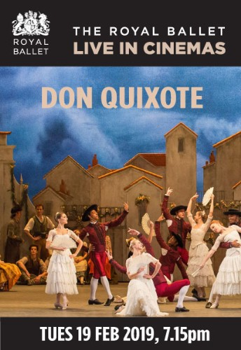 Don Quixote - LIVE from Royal Ballet ~ Dundalk Omniplex