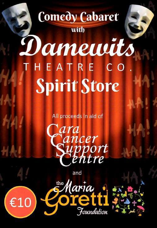 Damewits Theatre Company ~ The Spirit Store 30th Nov
