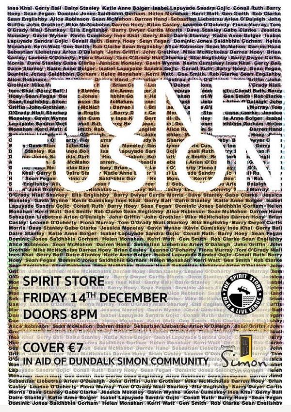 M'Anam Community Presents Tune Fusion ~ The Spirit Store Fri 14th Dec