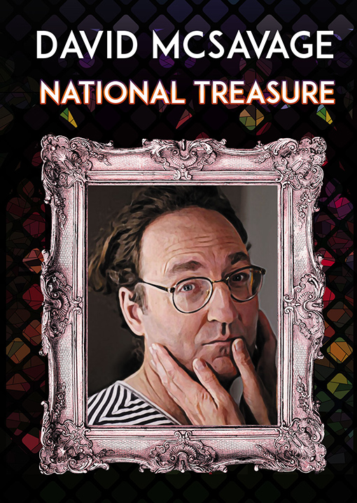 "David McSavage ""National Treasure"" ~ The Spirit Store"