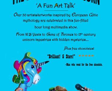 The Lady and the Unicorn: Art Talk ~ An Táin Arts Centre