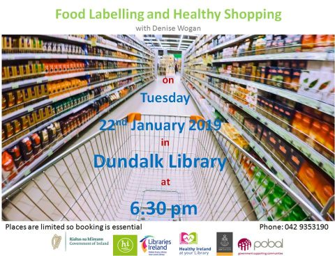 Food Labelling Dundalk Library