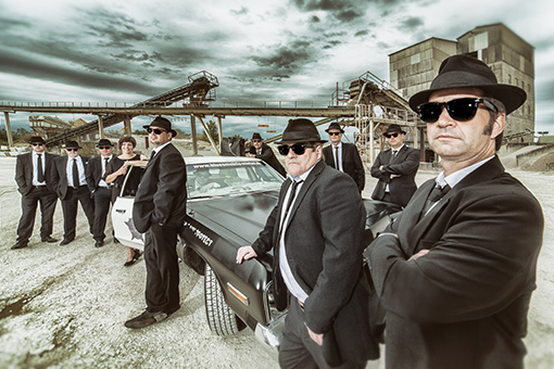 Bayern Blues Brothers ~ The Spirit Store Sunday 21st April