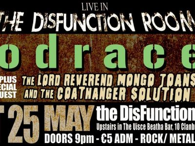 Podracer LIVE ~ DisFunction Room Uisce Beatha Bar Dundalk