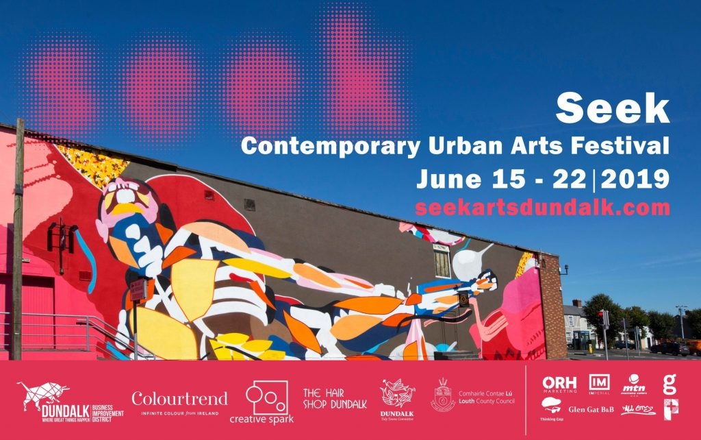 Seek Urban Arts Festival Dundalk 2019