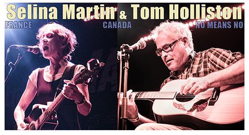 Music   Tom Holliston + The Selina Martin Band ~ Thursday 28 November Dundalk