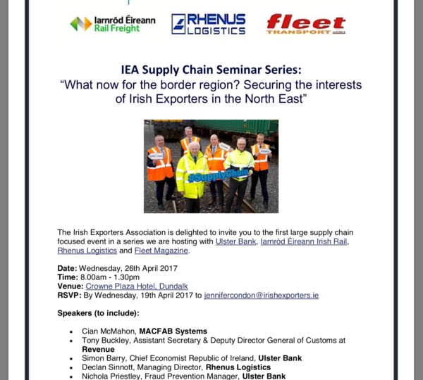 Business Event: Supply Chain Seminar Series