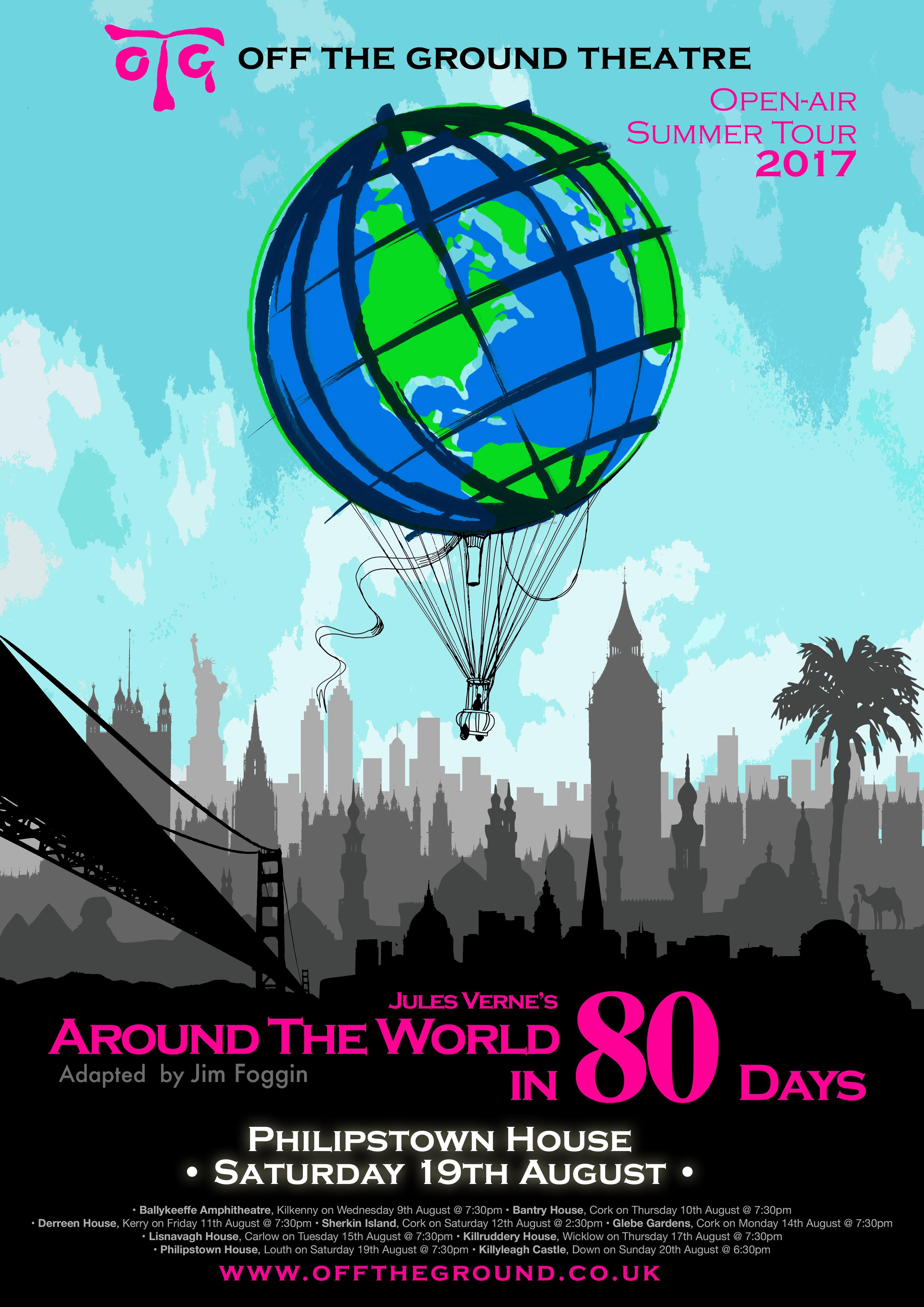 Philipstown House Around the World in 80 Days