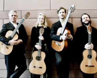 The Irish Guitar Quartet Saturday 10th February