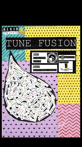 M'anam Presents Tune Fusion Friday 15th
