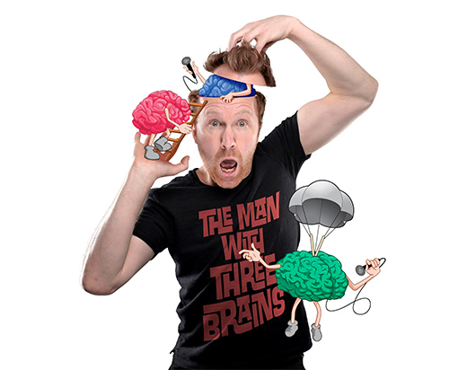 "Jason Byrne ""The Man With Three Brains"" Sunday 21st January"