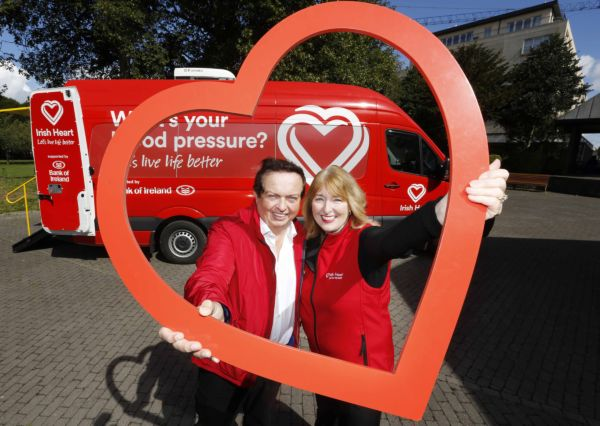 Irish Heart mobile health unit coming to Longwalk Shopping Centre Dundalk