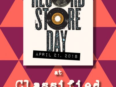 Classified Records Record Store Day 2018 Dundalk