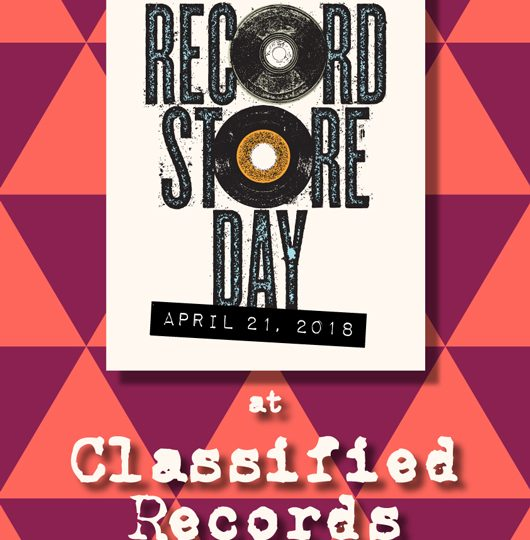Record Store Day 2018 Saturday 21st April