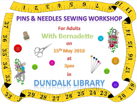 Pins & Needles Adult Sewing Workshop with Bernadette