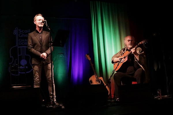 Iarla Ó Lionáird & Steve Cooney Sunday 1st July ~ The Spirit Store