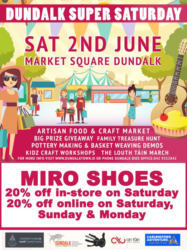 Miro Shoes Dundalk Super Saturday 2018