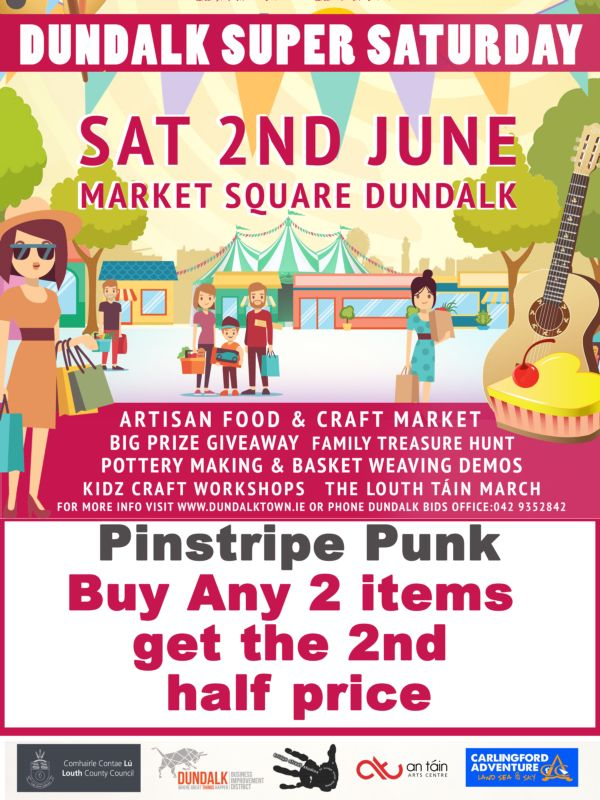 Pinstripe Punk Dundalk Super Saturday 2018