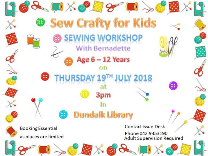 Dundalk Library July Events