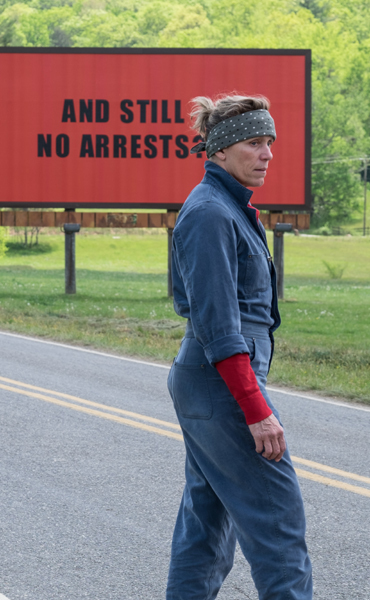 Film: Three Billboards Outside Ebbing, Missouri ~ An Táin Arts Centre & DkIT