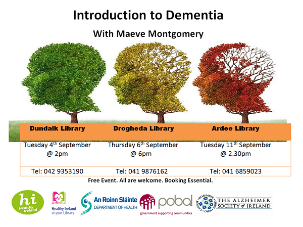 Louth Library Event ~ Introduction to Dementia