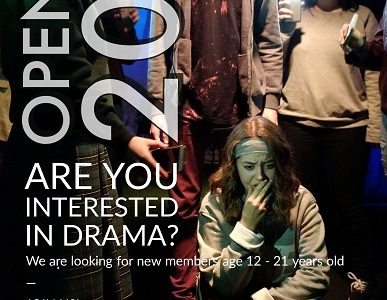 M.A.D Youth Theatre Open Day ~ Thursday 13th of September 5.30pm