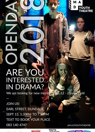 M.A.D Youth Theatre Open Day