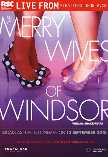 The Merry Wives of Windsor - LIVE from RSC ~ 12th September 2018 Dundalk