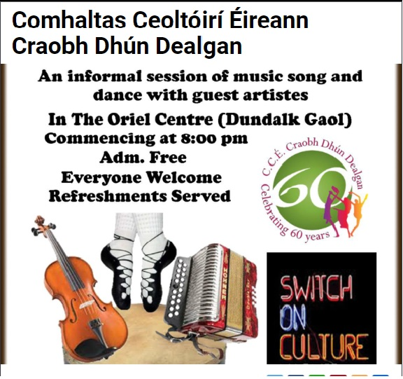Culture Night at Oriel Centre Dundalk Goal 21st September